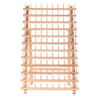 Folding 120 Axes Frame Spool Storage Rack Sewing Thread Bobbin Storage Rack Can Be Placed On The Table Or Hanging On The Wall