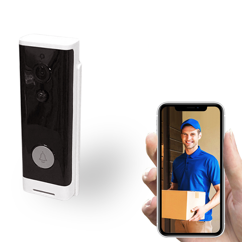 WiFi Smart Video Doorbell, Wireless Intercom Doorbell, Security Home Camera Real-Time Video And Two-Way Talk, Night Vision