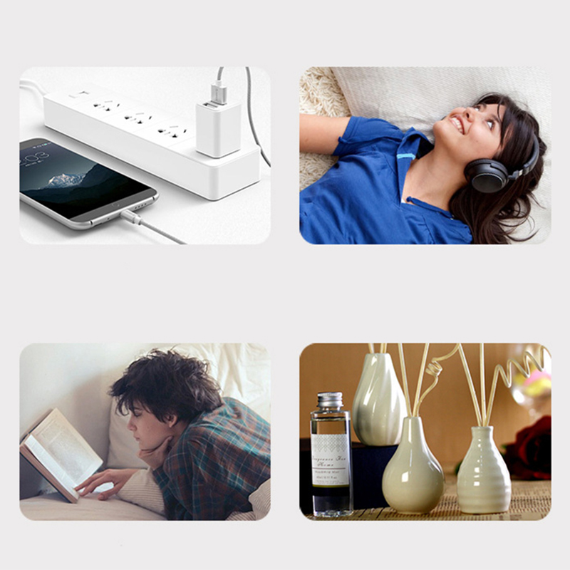 New LED Audio Table Lamp Smart Home Beacon Multi Function Desk Lamp with Wireless Charger and Bluetooth Speaker, Phone Stand US - 4