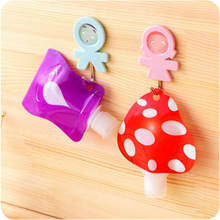 Cute Portable Travel Mini Makeup Fluid Bottles Bags of Hand Sanitizer Shampoo / Shower Gel Cosmetic Containers Empty Bags Tools