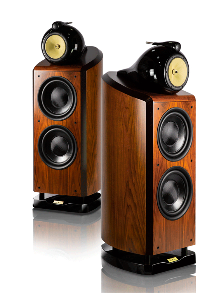 Three Way 4 Unit Double 10 Inch Woofer Hifi Speaker Hi-end Floor Speaker Large Home Theater System (pair) 2