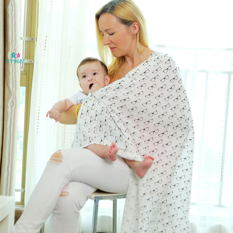 3Pcs/Set Muslin100%Cotton Cloth Newborn Baby Swaddles Blankets Wrap Babies Multi Designs Functions Infant Towel Hold Wraps 120CM