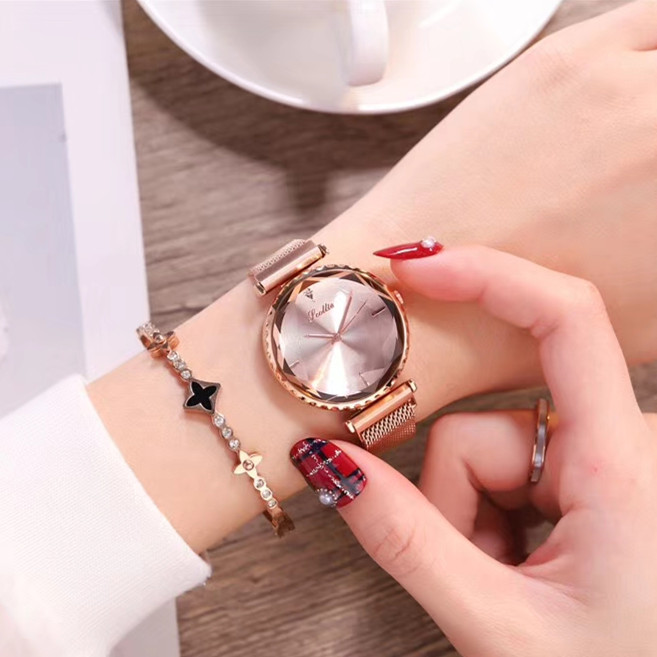 hot sale luxury style analog quartz watches for women ladies sports clock gift title=