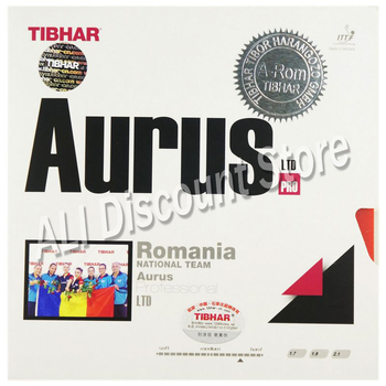 Tibhar High Quality Table Tennis Rubber Aurus National Team Ping Pong Racket Pimples In Rubbers