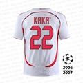 2006-2007 classic retro KAKA9-MARTINI3-INZAGHI9 sports T-shirt