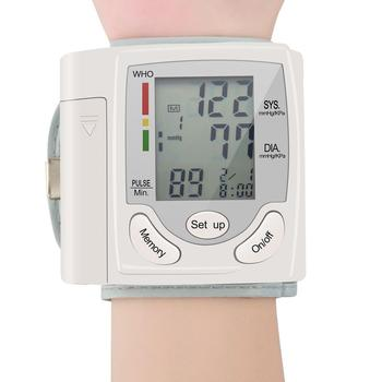 Automatic Wrist Blood Pressure Monitor Tonometer Meter Digital LCD Screen Portable Health Care Sphygmomanometer Worldwide Sale