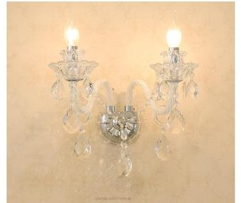 K9 Crystal Wall Lamp Luxury Decora Living Room Light Top Grade Beside Lighting Sconces