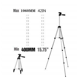 Image 4 - Soporte de trípode de aluminio de 42 pulgadas para IPhone, Gopro 7 6, cámara deportiva, teléfono inteligente, Control remoto inalámbrico por Bluetooth