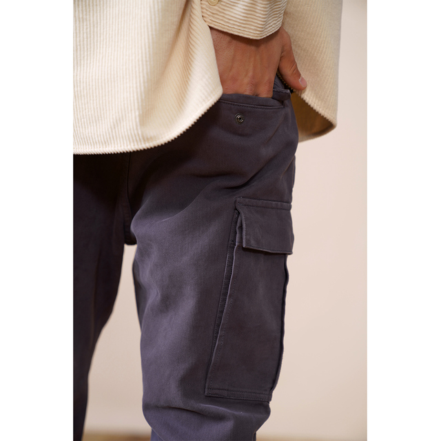 Vintage cargo pants with side pockets