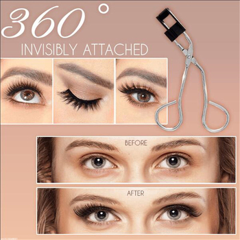 Magnetically Applying Eyelashes 2
