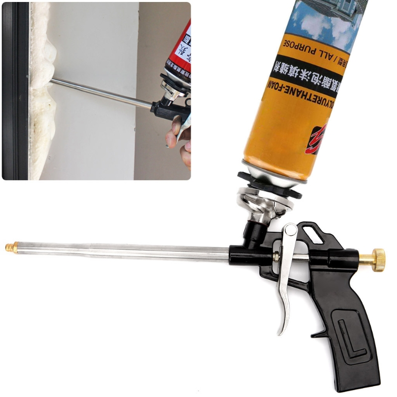 Manual PU Spray Foam Gun Heavy Duty Good Insulation DIY Professional Applicator Foam Gun