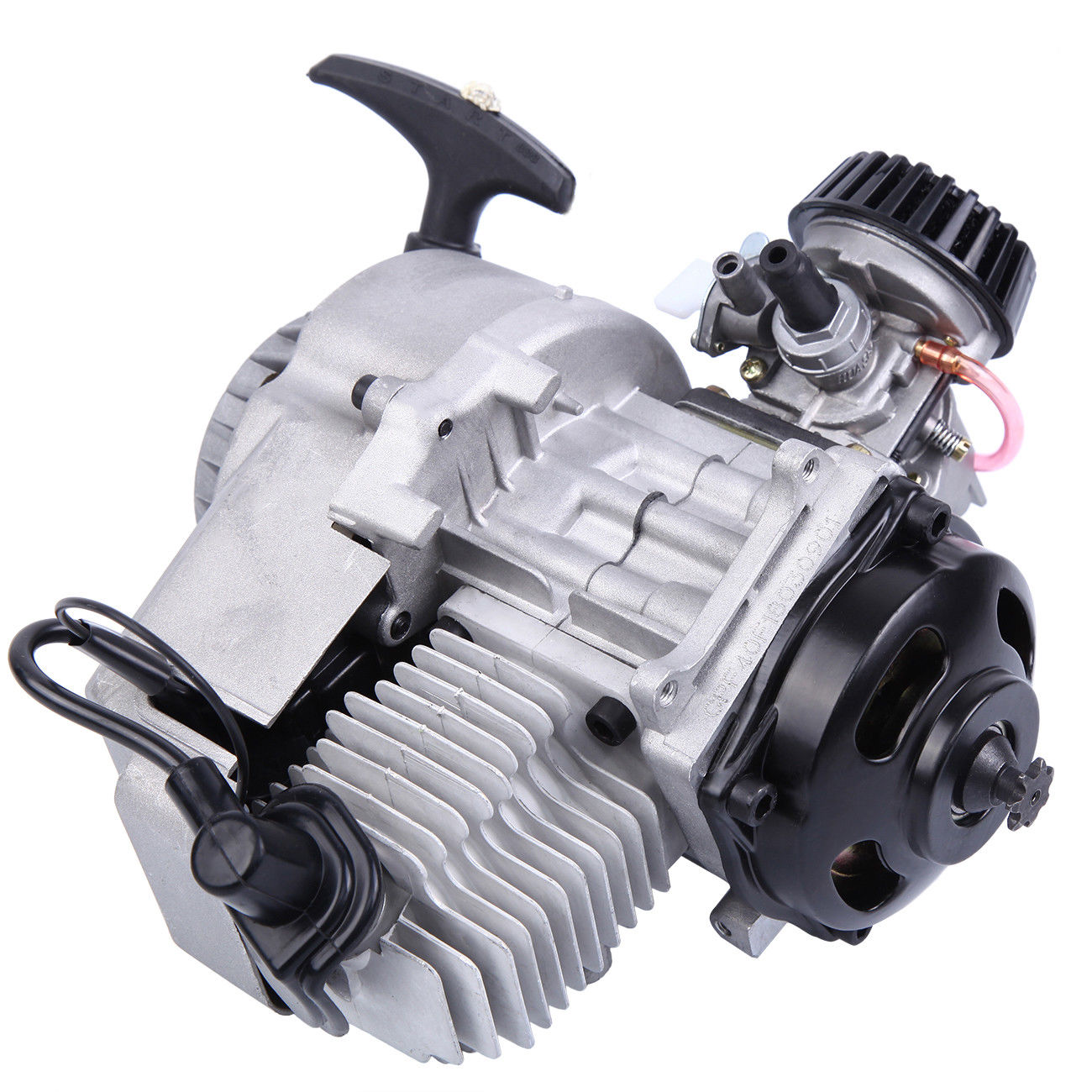 Samger 49CC Motor 2 Hub Mini Motor Start Motor Für Motorrad Dirt <font><b>Bike</b></font> <font><b>Pocket</b></font> <font><b>Bike</b></font> ATV image