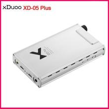 XDUOO XD 05 Plus amplificador de auriculares y DAC portátil, XMOS XU208 AK4493EQ, 32 bits/384kHZ DSD256, entrada USB/COAXIAL/óptica/de línea