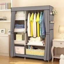 Шкаф тканевый складной для хранения одеждыНетканая Складная