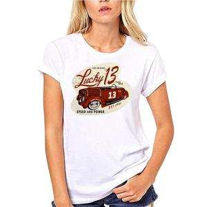 For Youth Girls Childs Kids T Shirt 3-15 Years New Cool Tee Shirt Authentic Lucky 13 Speed Devil Short Sleeve T-shirt S-4xl New