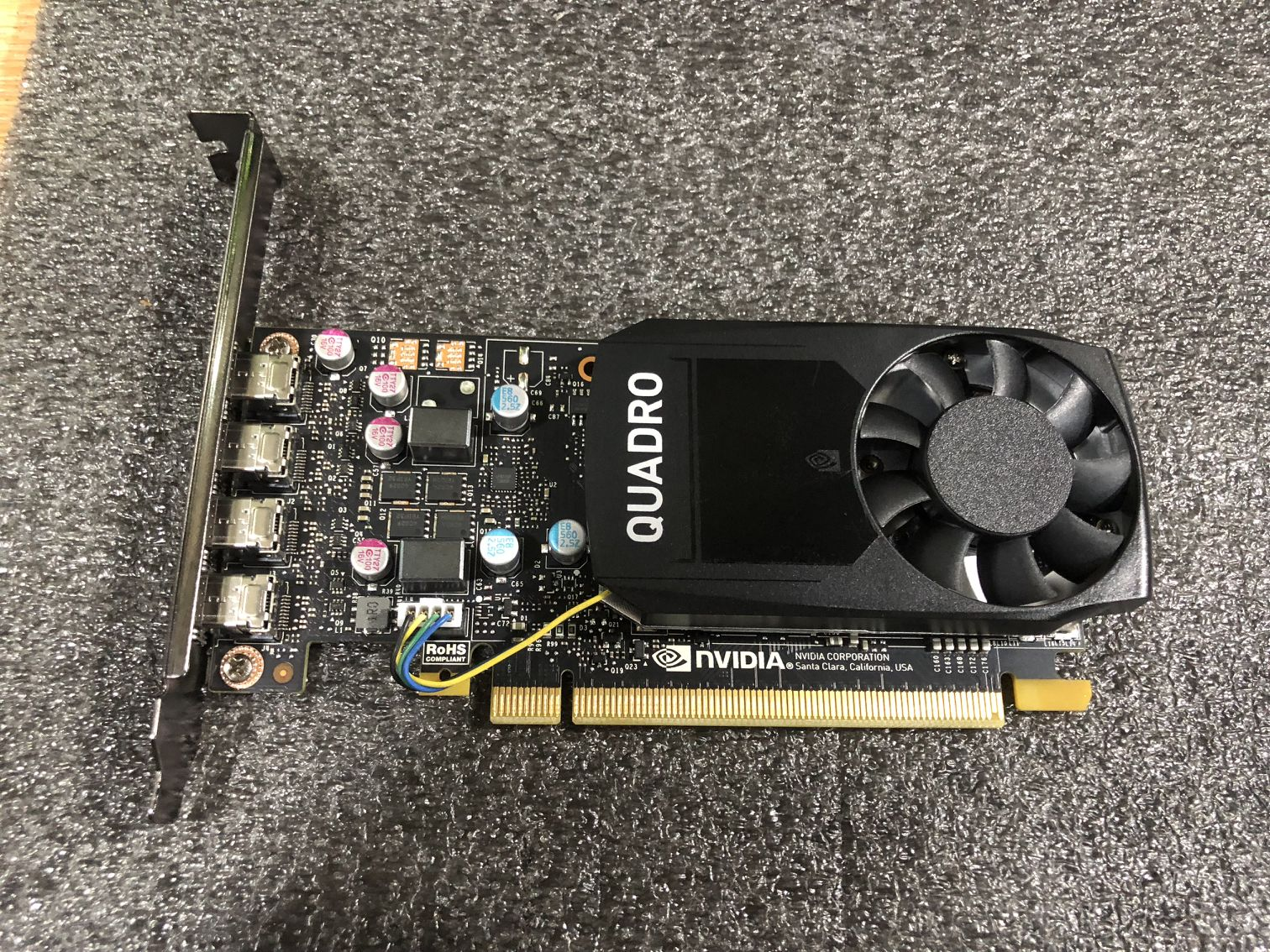 NVIDIA Quadro P620 / 2GB GDDR5/128-bit/ 80GB/s/CUDA Core 512/PCI-E3.0/Professional Graphics Used 90%new