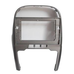 Image 2 - HACTIVOL 2 Din 자동차 라디오 페이스 플레이트 프레임 Chery Tiggo 3 2014 2015 자동차 DVD GPS Navi 플레이어 패널 대시 마운트 키트 자동차 제품