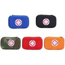Kit de primeros auxilios de camuflaje bolsa EVA impermeable para personas portátil para viajes al aire libre paquete de medicamentos Kits de emergencia de seguridad tratamiento