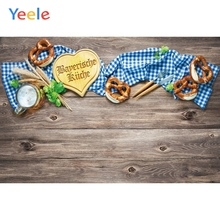 Yeele Oktoberfest Party Photocall Wood Beer Foods Photography Backdrops Personalized Photographic Backgrounds For Photo Studio