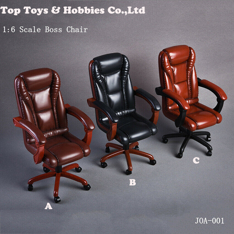 1/6 Scale action figure Scene Accessory 3 Colors Office Boss Swivel Chair For 12 Dolls PH Action Figure Collections