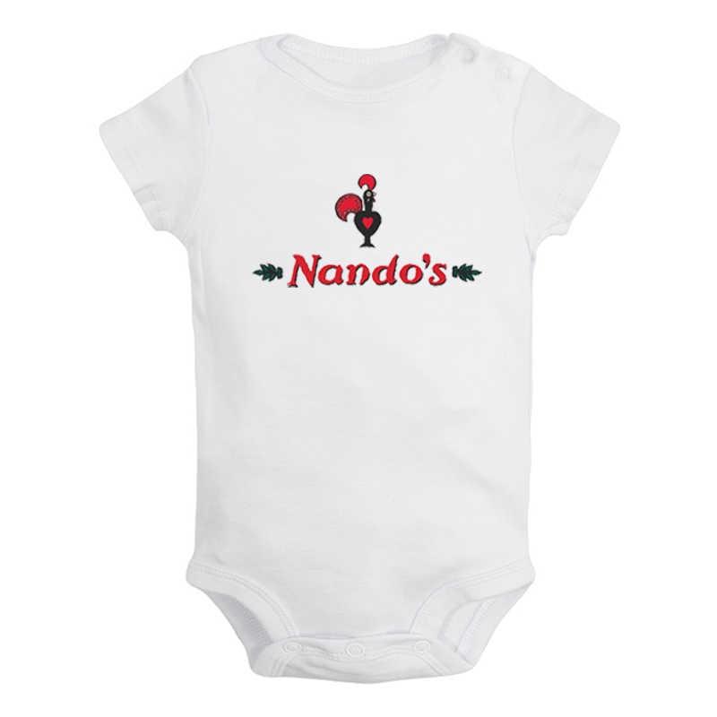 Cute Funny Cartoon Farm Yard zły kurczak wydrukowano noworodka dziewczynka chłopców ubrania pajacyk dziecięcy z krótkim rękawem stroje 100% bawełna