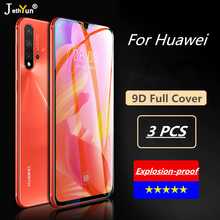 3PCS Full cover Tempered Glass For Huawei P20 P30 Pro Mate 20 10 Lite Screen Protector Protective For Huawei Mate 30 Pro Film full cover 9d tempered glass for huawei mate 30 pro mate 30 protective screen protector film