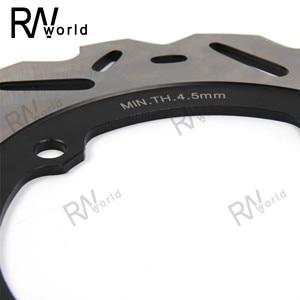 Image 3 - Motorcycle CNC Rear Brake Disks Disc Rotors For HONDA CB650F CBR650F 2013 2018 2014 2015 2016 2017 CB650 F CBR650 F CBR 650F 650