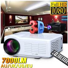 HD Mini Projector Native 800x480 LED WiFi Proyector 7000 Lumens Video Home Cinem