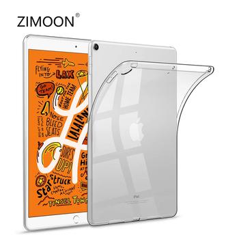 Dla iPad mini Case miękka obudowa dla iPad mini 5 przezroczysty futerał dla iPad mini 4 Slim wyczyść pokrywa dla iPad mini 1 2 3 7 9 #8243 tanie i dobre opinie zimoon Osłona skóra 7 9 CN (pochodzenie) ZMAR01 Stałe 15cm Dla apple ipad Moda for iPad mini Odporność na spadek Miękkie