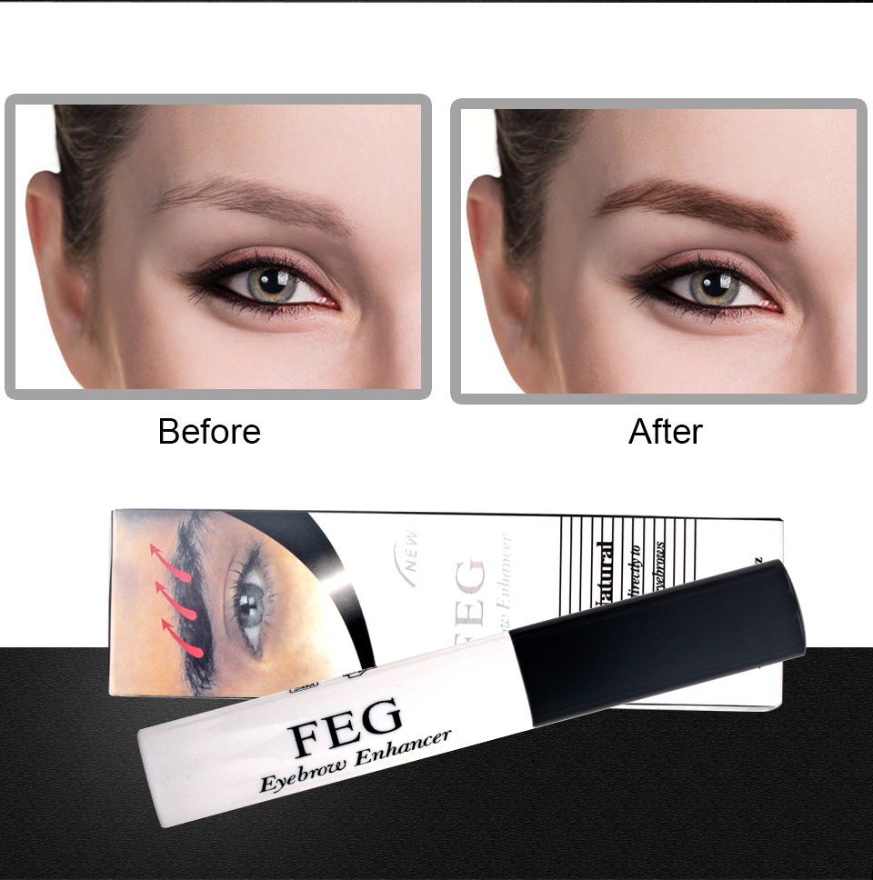 100% Original Professional Feg Eyebrow Enhancer Eyelash Growth Serum Natural Medicine Eyelashes Enhancer Lengthening Longer 5