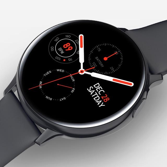 Timewolf 2020 Smart Horloge Bluetooth Call IP68 Smartwatch Full Touch Screen Smart Horloge Voor Android Telefoon Iphone Ios