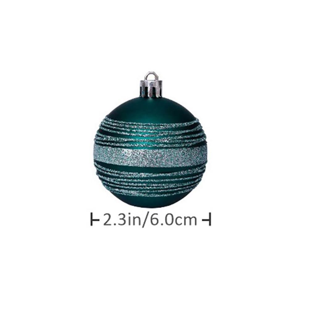 Купить 30 шт/лот 60 мм декор рождественской елки шар безделушка рождественские