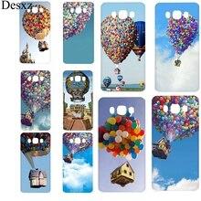 Mobile Phone Case For Samsung J1 J2 J3 J5 J6 J7 Prime Hard Cover Movie Fly House Shell Bag