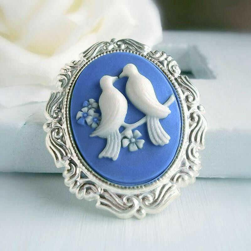 Men Women Jewelry Cute Bird Wedding Pigeon Vintage Engagement Ring Size 6 10|Rings|   - AliExpress