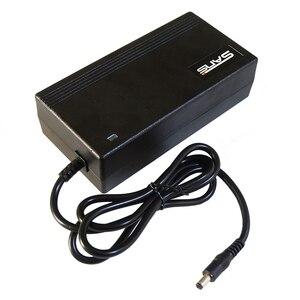 Image 3 - Frete grátis 48 v 2a li ion carregador de bateria usado para 48 v bicicleta elétrica saída de carregamento da bateria 54.6v 2a alta 48v2a carregador
