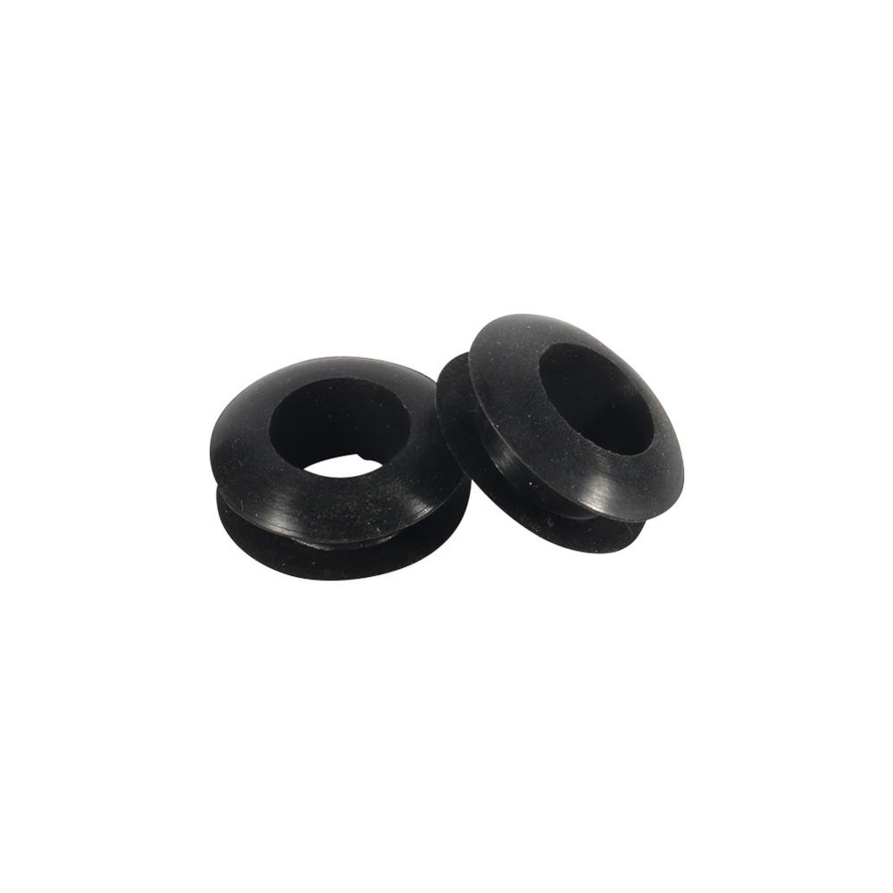5/6/7/12/20/22/25/30/40/50/60mm Inner Diameter Double Sided Water Pipe Wire Cable Rubber Grommets Rings 5 Pcs