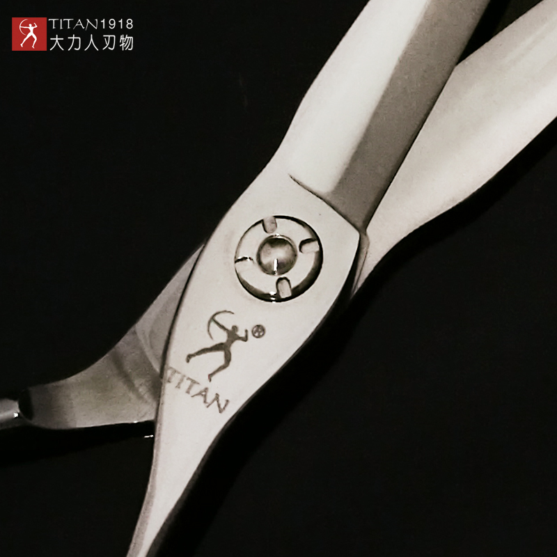 Titan cabeleireiro tesoura corte barbeiro ferramenta tesoura frete grátis