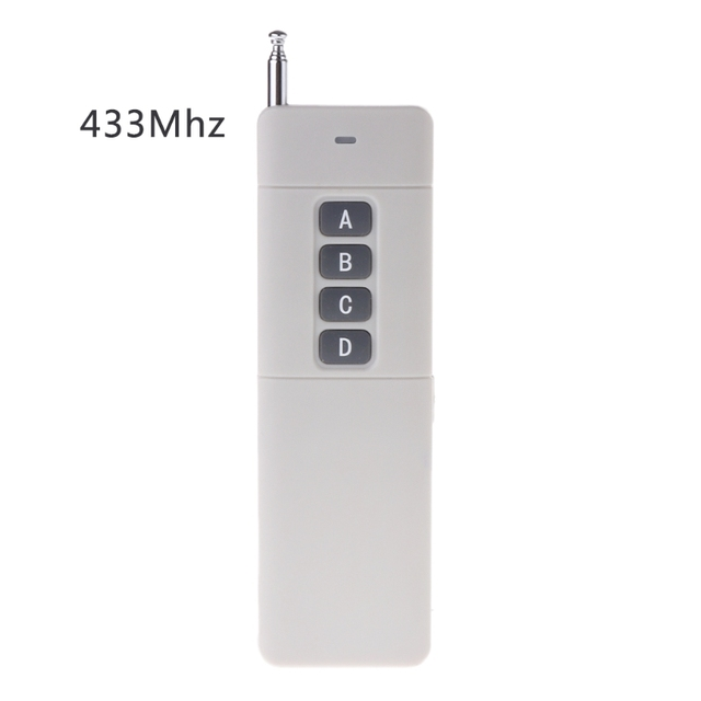 1KM 315/433MHz Wireless 4 Keys Copy Cloning Remote Controller Duplicator Garage