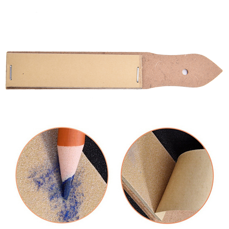 1 Pcs Sandpaper Pointer Tools For Artist Sketch Charcoal Pencil Sharpening Art Drawing Supplies Wholesale