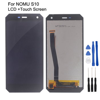 Original LCD For NOMU S10 LCD Display Touch Screen Digitizer Repair Parts For NOMU S10 Screen LCD Display Free Tools original lcd screen replacememt for chuwi hi10 cw1526 lcd screen display free shipping