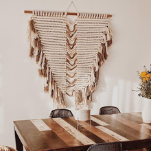 Macrame Wall Hanging Woven Art Tapestry Boho Wild Style Decor Christmas Decorations Fireplac for Home