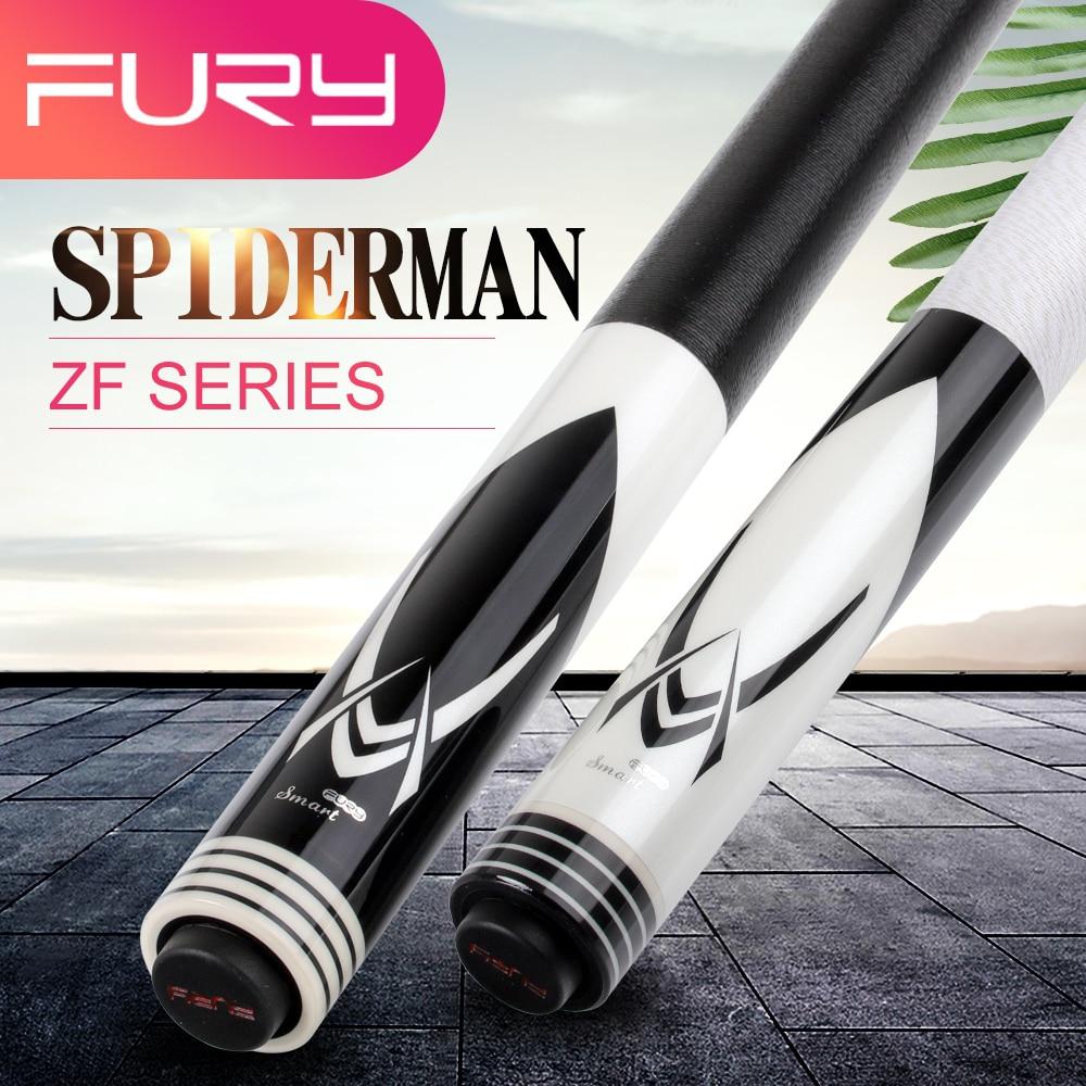 Free Shipping FURY ZF Series Billiard Pool Cue 13mm Tiger Tip 2 Choices Professional Maple Uni-lock Quick Joint Billar Kit Stick