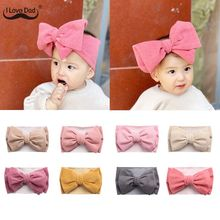 Winter Baby Hat Headband Soft Elastic Cotton Baby Girl Hat Solid Color Kids Cap Bonnet Knit Girls Hats Hairband Baby Accessories cheap I LOVE DAD CN(Origin) Polyester Adjustable Baby Girls 0-3 months 13-18 months 19-24 months 4-6 months 7-9 months 10-12 months
