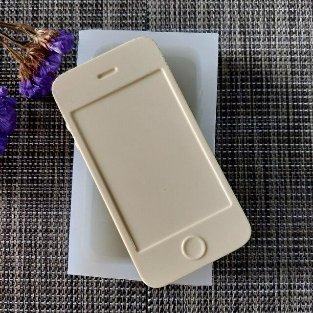 QT0164 PRZY téléphone Mobile modèle savon moule Silicone moule à la main savon faisant des moules bougie Silicone moule résine argile moules