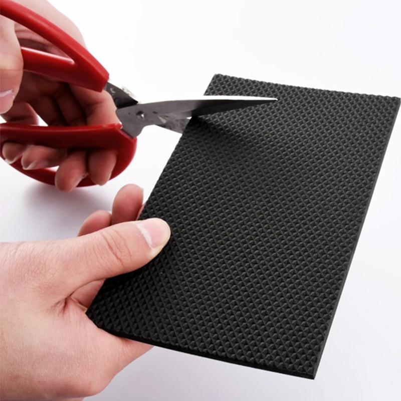 Купить с кэшбэком Furniture Leg Anti-slip Floor Anti-wear Cabinet Sofa Cushion Self-adhesive Bumper Damper for Table Hardwarefloor Protector Mat