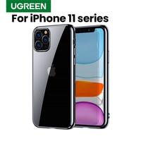 Ugreen caso para iphone 11 pro max 2019 mais novo caso protetor de luxo ultra macio tpu volta capa para iphone 11 pro max
