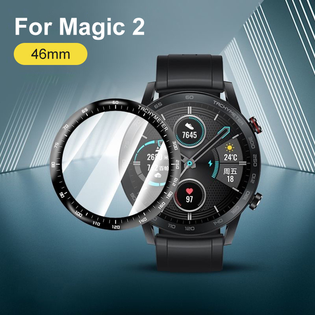 Soft Fibre Glass Protective Film Cover For Huawei Watch GT 2 Honor Magic 2 46mm GT2e Smartwatch Screen Protector GT2 Pro Case 2