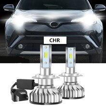 2 pièces ZES 9012 Auto voiture phare Led pour Toyota CHR C-HR 2017 2018 2019 2020 voiture accessoires LED phares