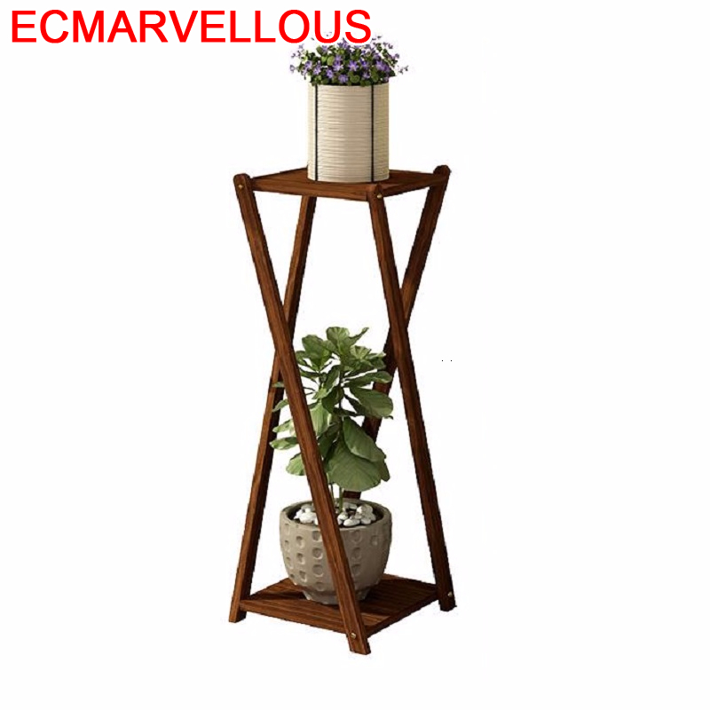 Balkon Estante Saksi Standi Mueble Para Plantas Varanda Pot Indoor Balcony Shelf Rack Dekoration Outdoor Flower Plant Stand