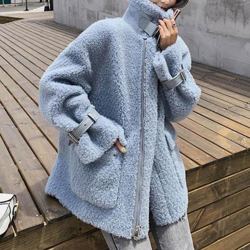 Женские куртки и пальто genayoa зимняя свободная теплая Повседневная